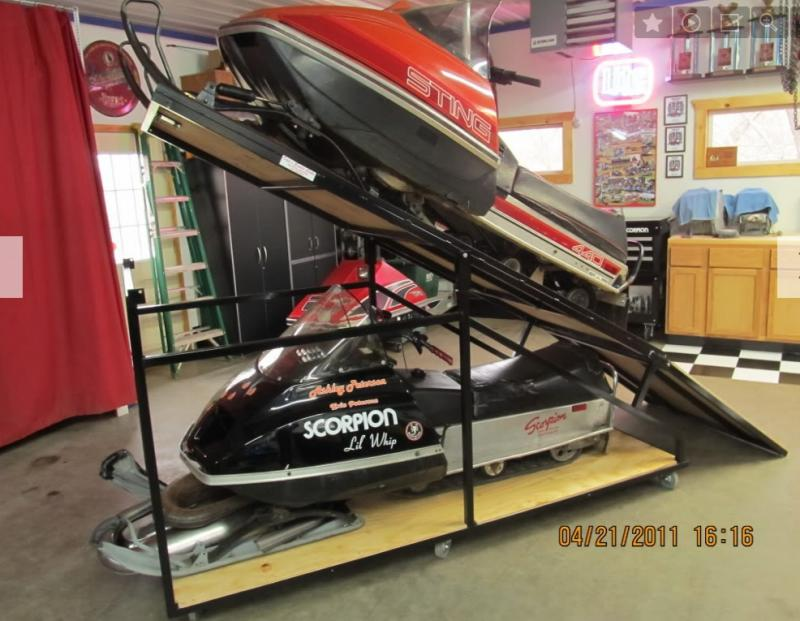Snowmobile Storage Racks Ontario Freedomsledder Com